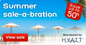 Summer Hotel Sale: Save up to 50%